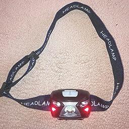 Linterna Frontal LED USB Recargable 1200mAh, Linterna Cabeza 8 ...