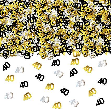 Crafts Ideal for Birthdays 100 Mini Dark Silver Glitter Flamingo Confetti