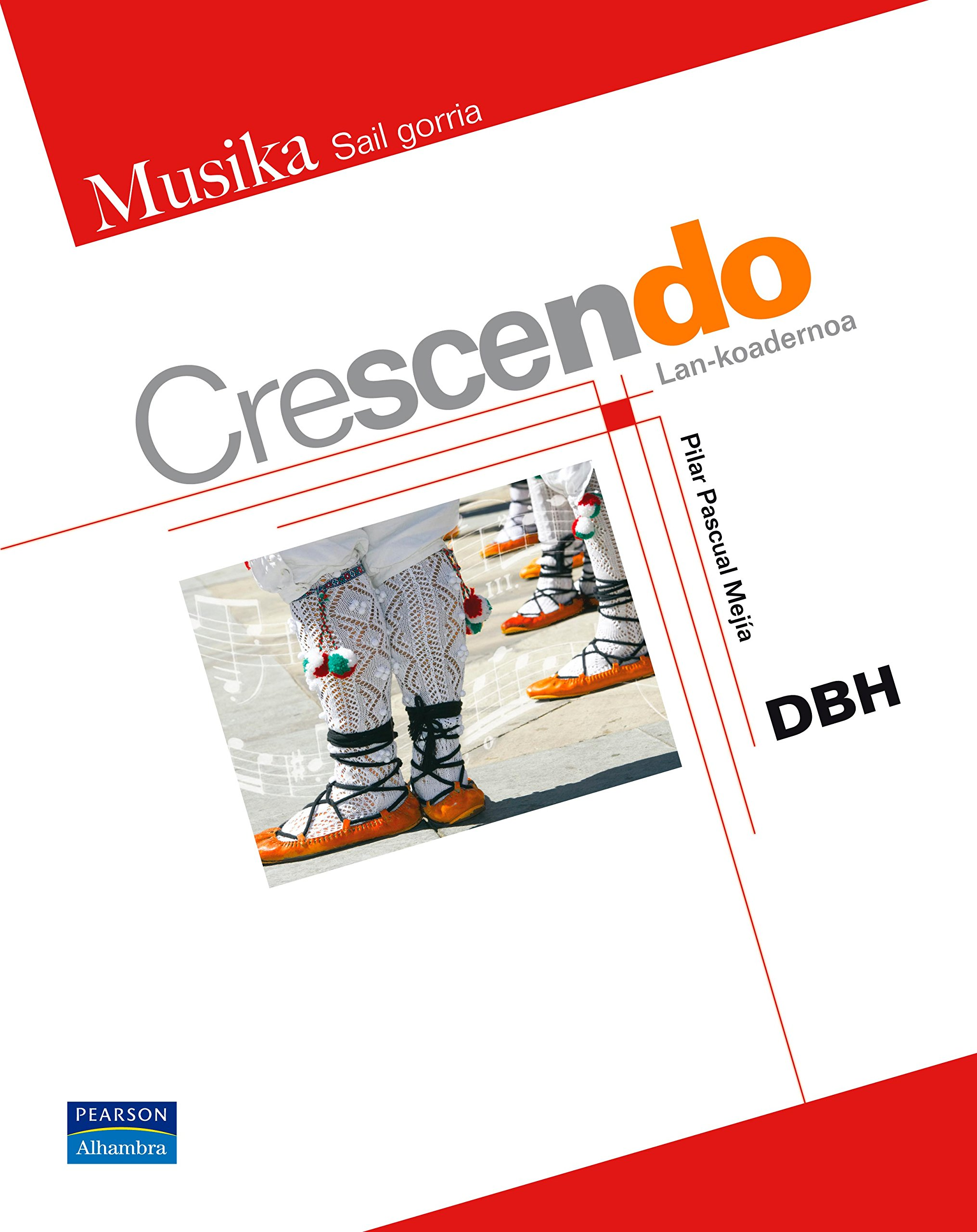 Crescendo lankoadernoa - 9788420553115: Amazon.es: Pilar ...