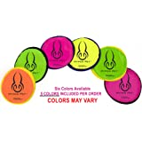 The Original Flippy Flopper Hyper Pet Frisbee 9 (Set of 5) COLORS MAY VARY