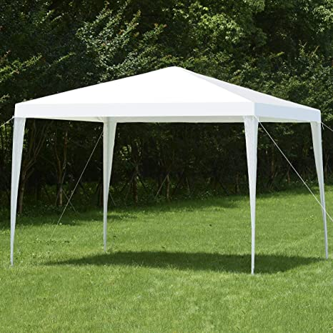 3x3m Gazebo Outdoor Marquee Tent Canopy Blue In Short Supply Garden Structures & Shade Yard, Garden & Outdoor Living