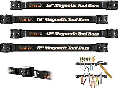 VonHaus Magnetic Tool Holder Bar Organizer Racks