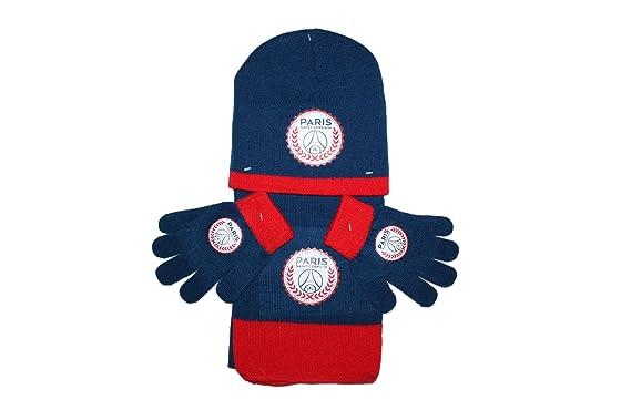 paris saint germain - Set de bufanda, gorro y guantes - para niño ...