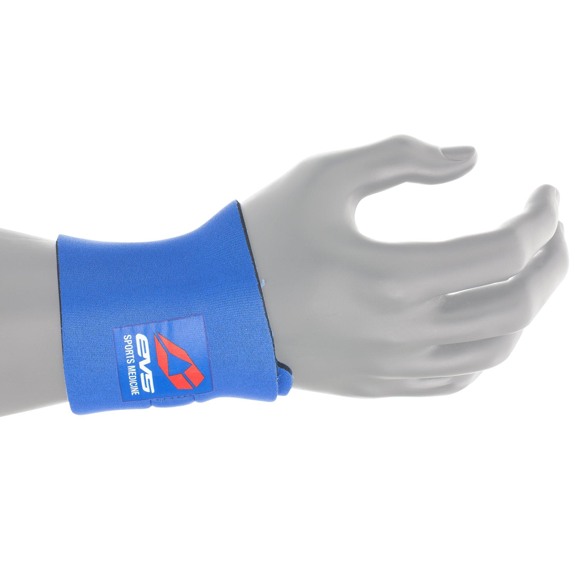 EVS Sports Unisex-Adult Neoprene Wrist Support (Blue, One Size)