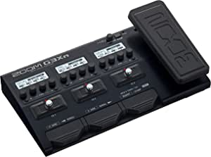 Zoom G3Xn Guitar Multi-Effects Processor with Expression Pedal, With 70+ Built-in Effects, Amp Modeling, Stereo Effects, Looper, Rhythm Section, Tuner