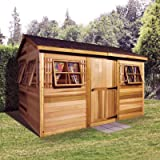 Shed 9 x 6 ft. Beach House Garden Shed