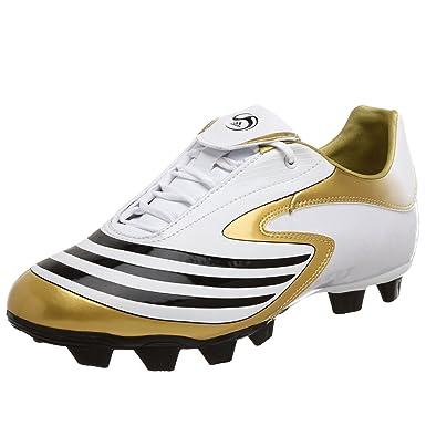 8e1a13ff30f93 Amazon.com | adidas Men's F10.8 TRX FG Soccer Shoe, White/Black/Gold ...