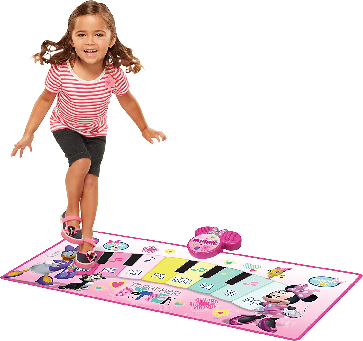 Minnie Mouse Music Mat Together is Better Electronic Piano Mat: Toys & Games