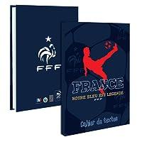 Cahier de texte FFF - Collection officielle Equipe de FRANCE de football - Rentrée scolaire