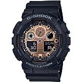 [カシオ]CASIO 腕時計 G-SHOCK ジーショック BLACK&ROSE GOLD GA-100MMC-1AJF メンズ