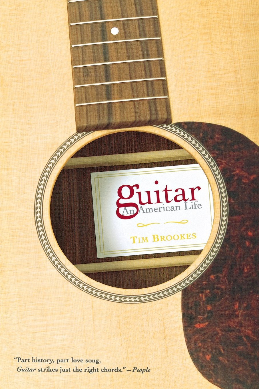 Guitar An American Life Tim Brookes 9780802142580 Amazon Books