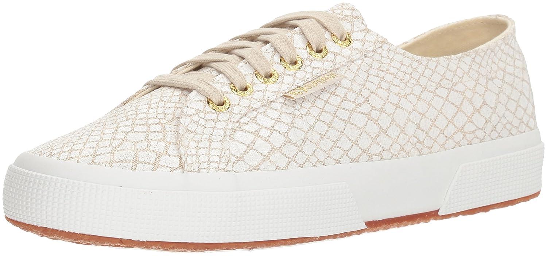 Superga Women's 2750fantasycotlinenw Sneaker B0777WGRCL 41.5 M EU (10 US)|White/Multi