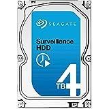 Seagate Surveillance HDD - 4 TB - interne Festplatte, ST4000VX000 (3,5 Zoll), 64 MB Cache, SATA III für den Überwachungsbereich