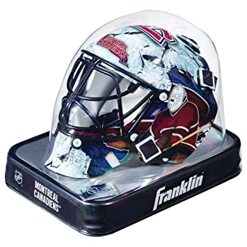 uk availability c2ecd f9839 FRANKLIN Sports NHL Team Series Mini Goalie Mask-Montreal Canadiens, Goalie  Masks - Amazon Canada
