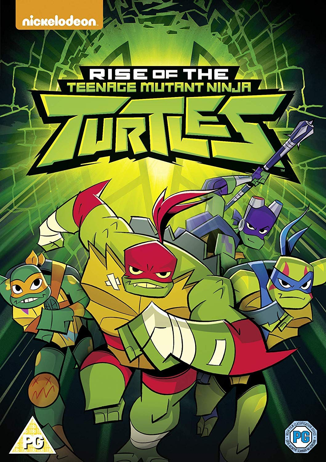 Rise Of The Teenage Mutant Ninja Turtles Self-Titled ...