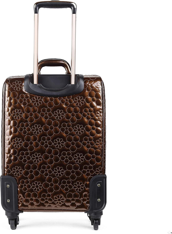 3D Metallic Luxury Sculpting Classy Suitcase Daisy Dreams Laser Cut Luggage