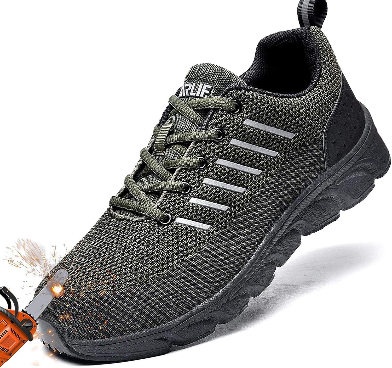 Men Work Safety Indestructible Shoe Steel Toe Bulletproof Midsole Oilproof Boot