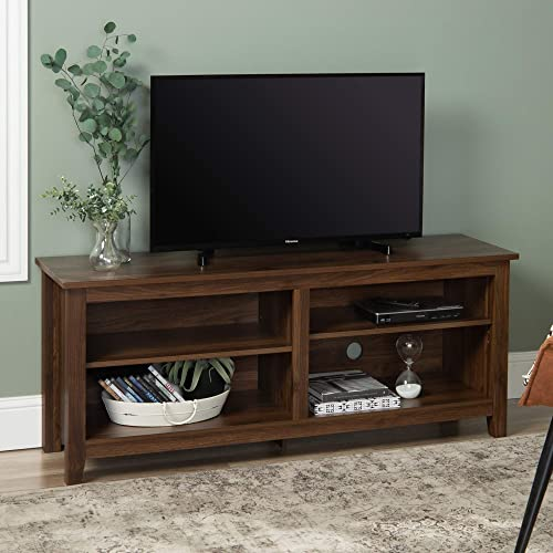 Walker Edison Simple Wood Contemporary Stand