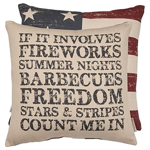 Primitives By Kathy Pillow Fireworks & Freedom