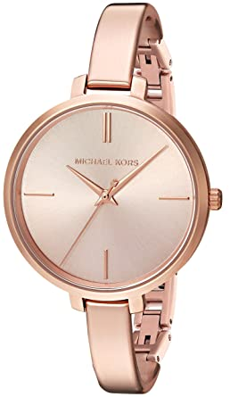 2f687a3ab7388 Image Unavailable. Image not available for. Color  Michael Kors Women s  Jaryn Rose Gold-Tone Watch MK3547