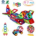 87-Pcs. Manve Magnetic Blocks Building Toys Set