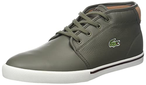 8fe08939657d3 Lacoste Men s s Ampthill 118 2 Cam Hi-Top Trainers  Amazon.co.uk ...