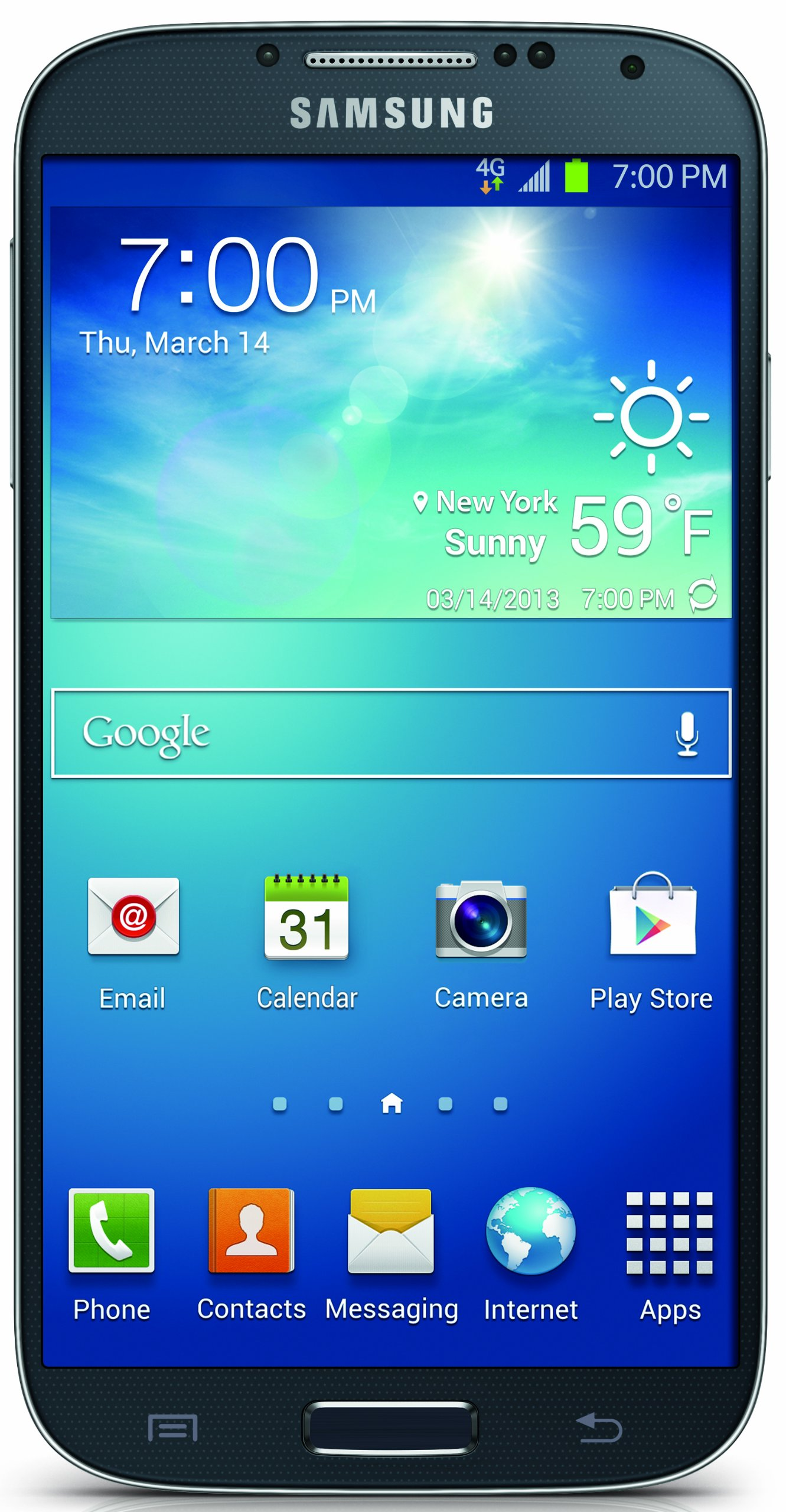 Samsung Galaxy S4, Black Mist 16GB (Sprint)