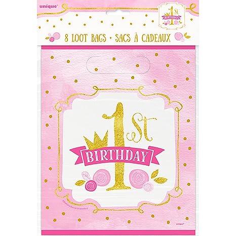 Unique Party - Bolsas para cumpleaños 1er cumpleaños ...