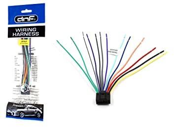 81vur4eVafL._SX355_ amazon com dnf jvc wiring harness wire harness kw nx7000 kwnx7000 copper wire hardness at virtualis.co