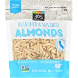 365 Everyday Value, Almonds, Blanched & Slivered, 8 oz