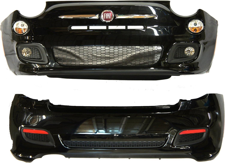 Fiat Genuine Accessories 82212594 500//500C Black//Nero Ground Effect Kit