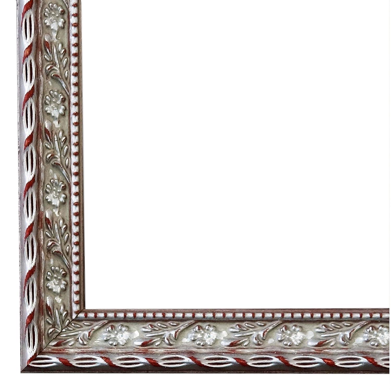 Amazon.de: Bilderrahmen Brescia Silber 2, 0 - DIN A3 (29, 7 x 42, 0 ...