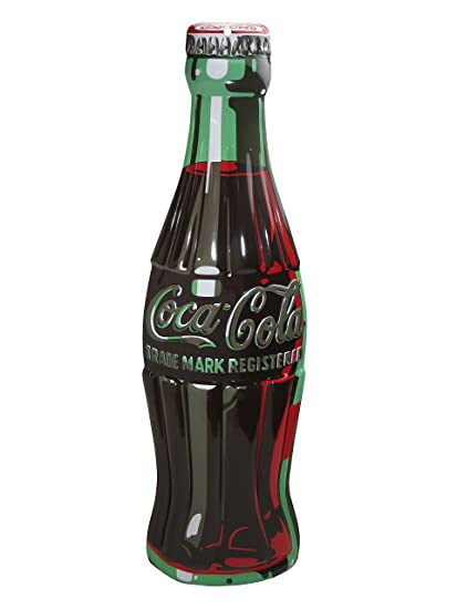 Coca Cola Coke Bottle Tin Sign 7 X 21in