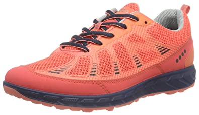 ECCO Women's Terra Trail Oxford, Coral Blush, 37 EU/6-6.5 M