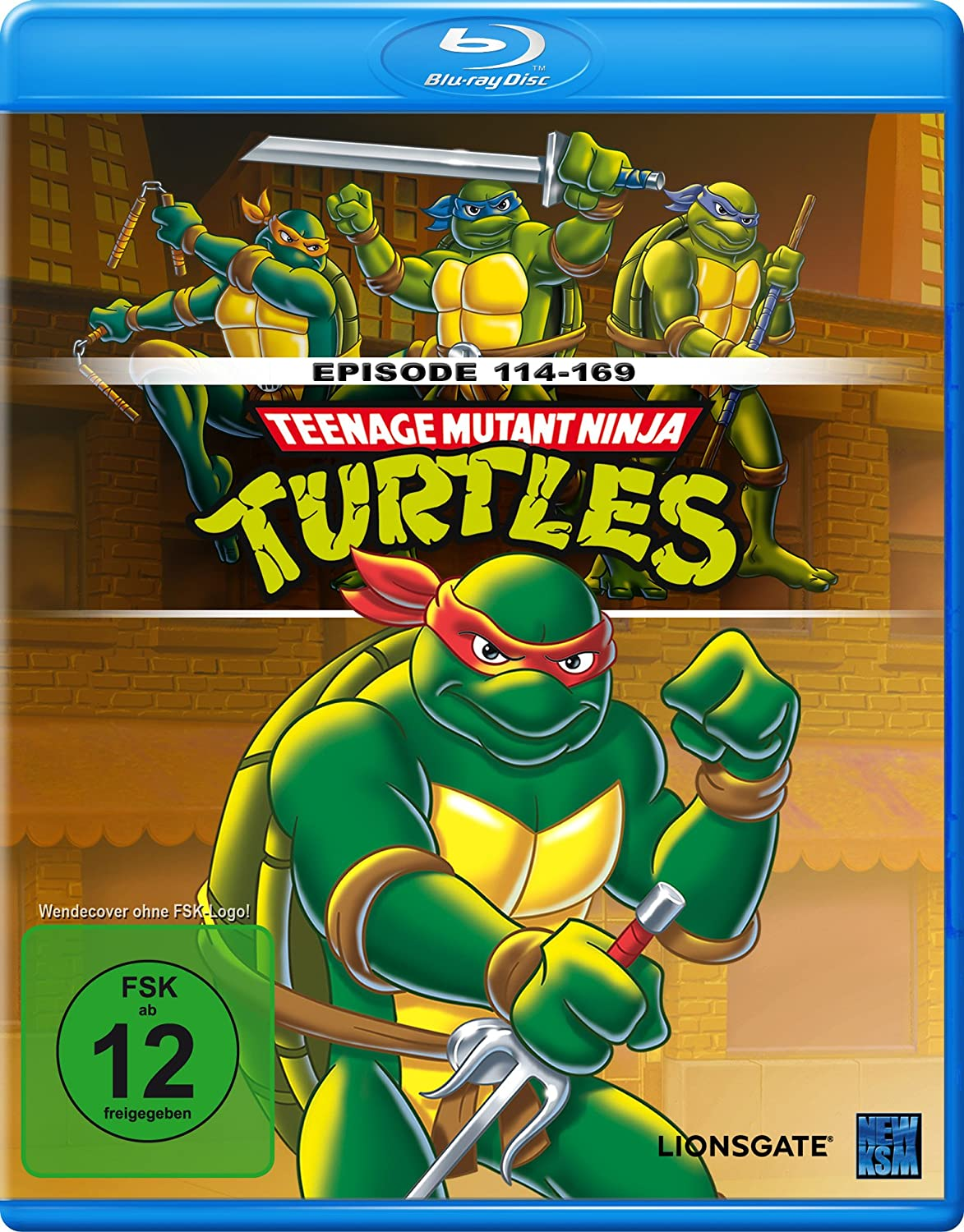 Teenage Mutant Ninja Turtles - Episoden 114 -169 Blu-ray ...