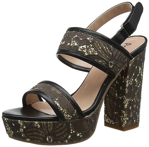 Liquidación Liquidación Auténtica Barato Pollini W.Sandal amazon-shoes neri Q6UX8Q8z