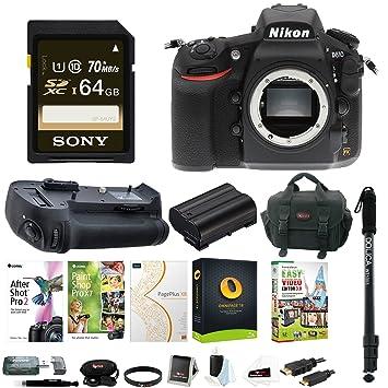 Amazon Canada: Nikon D810 DSLR Camera (Body Only) w/Battery