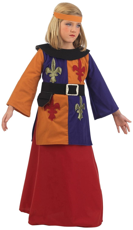 Limit Sport - Disfraz de guerrera medieval Lys para niños, talla 4 ...