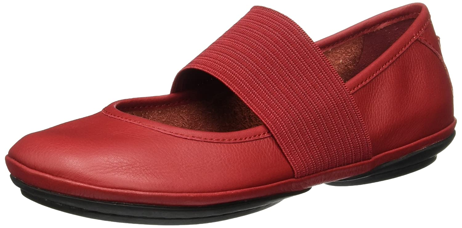 Camper Right Nina, Nina, Ballerines Femme Rouge (Medium Rouge Red Red 610) 04aa69e - reprogrammed.space