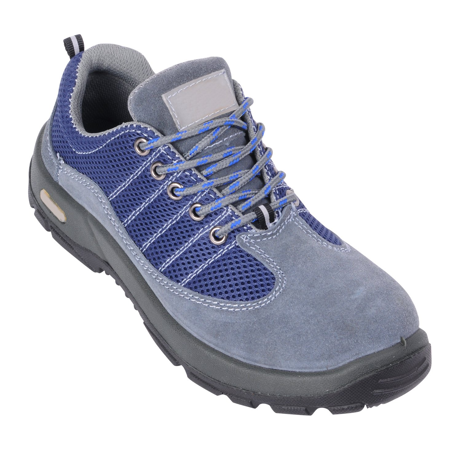 Optimal Product Men's Safety Shoes Work Shoes Comp Steel Toe Gray EU42 US8.5