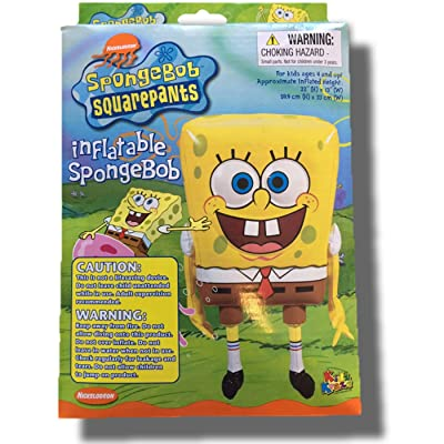 "Inflatable Spongebob Squarepants 22""(H) x 13""(W): Toys & Games"