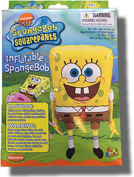 Amazon.com: Hinchable Bob Esponja 22