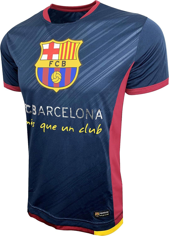 Amazon Com Hky Sports Barcelona Poly Jersey Fc Barcelona T Shirt Clothing