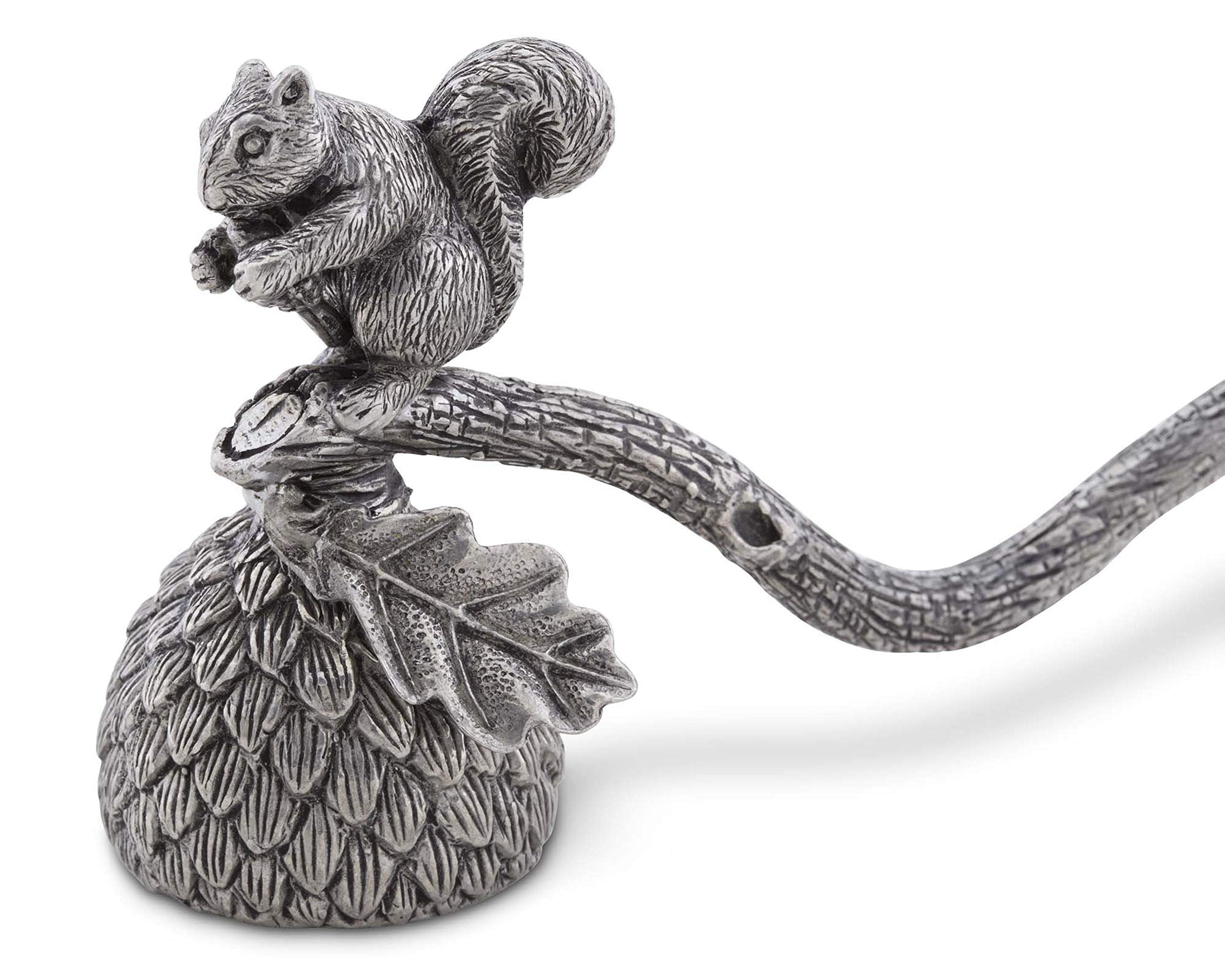 Vagabond House Pewter Squirrel Candle Snuffer 10'' Long by Vagabond House (Image #3)