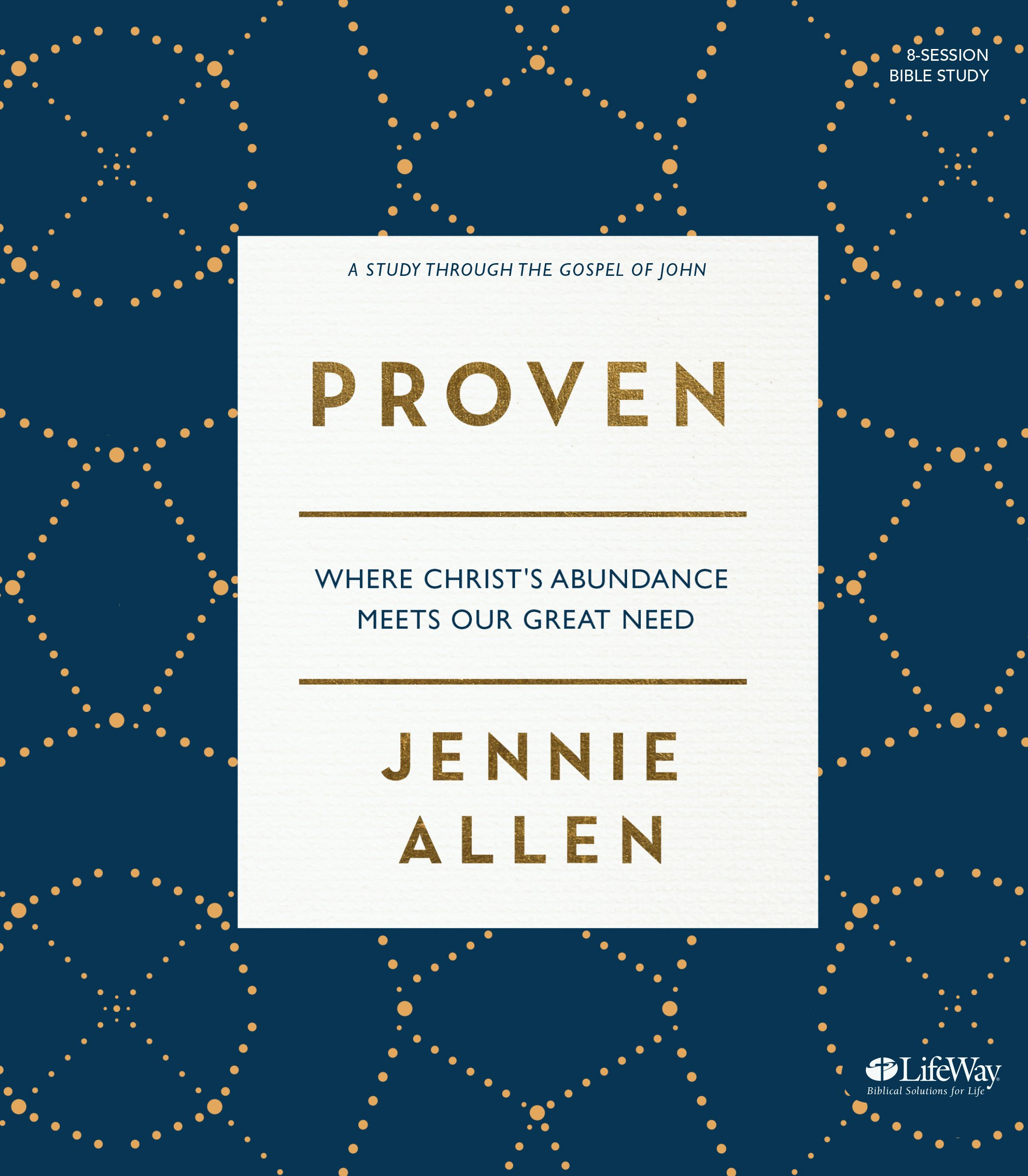 Proven bible study book where christs abundance meets our great proven bible study book where christs abundance meets our great need jennie allen 9781430055051 amazon books fandeluxe Image collections