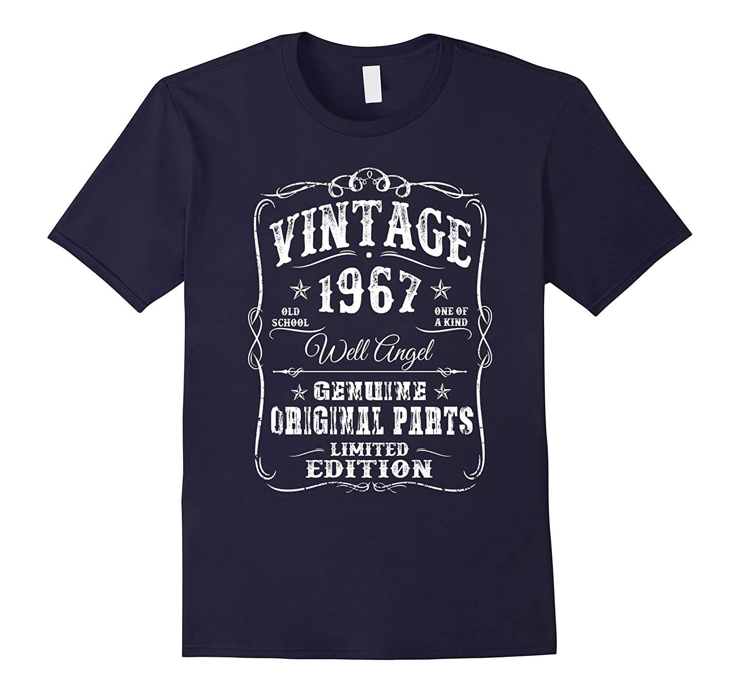 1967 T-Shirt 50th Birthday Gifts 50 Year Old B-day Vintage-Art