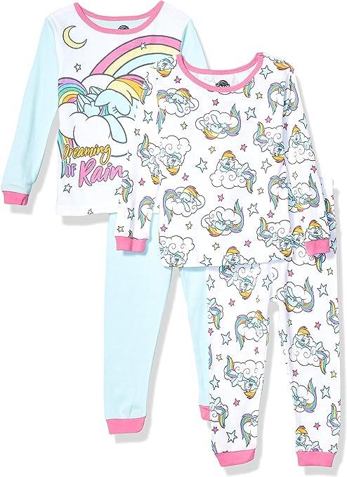 New Girls My Little Pony Pyjamas Nightwear Size 4-5 to 9-10