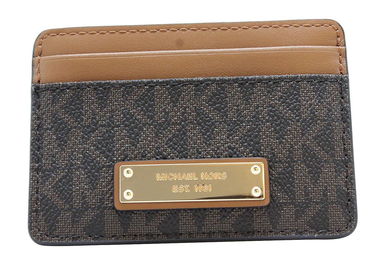 Michael Kors - Money Pieces, Monederos Mujer, Marrón (Brown), 1.9x7x9.5 cm (W x H L): Amazon.es: Zapatos y complementos