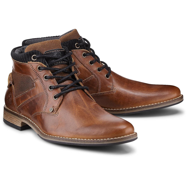 Cox Herren mit Schnür Stiefel aus Leder, Stiefeletten in in in Braun mit ... 75f446
