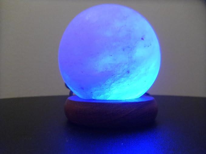 Lampada Cristallo Di Rocca Proprietà : Lampada sale roccia cristallo con luce multicolore alimentazione usb